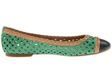 Womens Shoes Sperry Top Sider CLARA Slip On Balerina Flats Green Navy