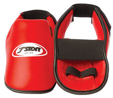T-Sport Karate, Kickboxing, Taekwondo Foot Protectors - Red - 200-202/R