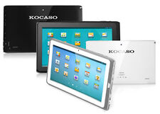 "KOCASO Tablet Android 4.1 10.1"" Bluetoooth HDMI 1.6 GHz Dual Camera M1068"