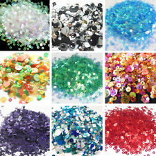 💙💛❤️💚🧡 Sequins Mixed Flat, Cup Shaped Sequins 400+ Per Bag 💙💛❤️💚🧡