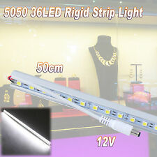 Rigid 36 LED 5050 SMD Strip Light Caravan Cabinet Downlight Bar Lamp 12V 50CM