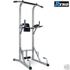 Ryno™ Ultimate VKR Power Tower Tricep Dip Station Pull Push Sit Up Crunch Bar