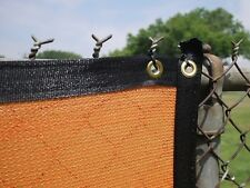 6'x50' Fence Premier Windscreen-Privacy Mesh Screen-Orange
