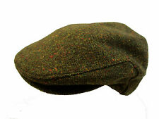 From Ireland Traditional Tweed Flat Cap BNWT S M L XL Green Donegal Fleck