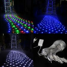New 200 LED Indoor/Outdoor Net String Light Lamp For Christmas Decoration 2mX3m