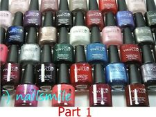 CND VINYLUX Nail Lacquer Matching Shellac GelColor - Pick Any Polish ( Part-1 )