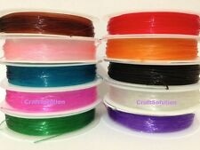Elastic Stretch Clear Beading Wire Cord String size .6MM, 9m/9yd per roll