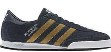 New Mens Adidas Originals Beckenbaur Denim/Gold Trainers G45913 6.5-12.5