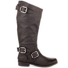 Fergalicious By Fergie SaddleUp Dark Brown Knee High Western Fashion Boots