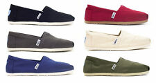 Toms Womens Classic Canvas in Black, Red, Ash, Natural, Navy, White, Olive BNIB