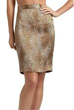 NWT Authentic GUESS by Marciano Clay Pencil SILK Skirt size 4/6 MSRP $128