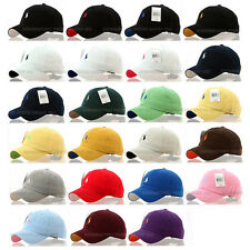 Men Women Small Pony Classic Baseball Ball Cap Outdoor Sports Polo Hats Unisex