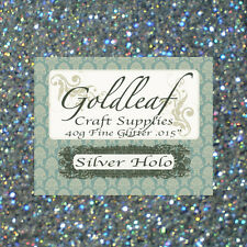 "Nail Glitter hexagons / Craft/ Florist / 40g  Extra Fine .008""/ .015""/ .040"""