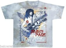 JIMMY PAGE DOUBLE YOUR PLEASURE TIE DYE T-SHIRT SIZE MEDIUM LARGE EXTRA LARGE