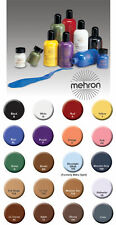 MEHRON LIQUID FACE BODY HAIR PAINT ALL COLOR WHITE BLACK GREEN RED & MORE 4.5OZ