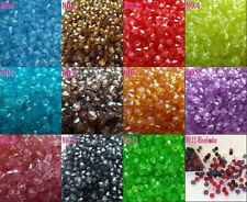 Free shipping! 1000 pcs 4mm Bicone Acrylic Loose Beads Seed
