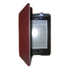 New Lighted Leather Case Cover with Built-in Book Light for Amazon Kindle 4/5