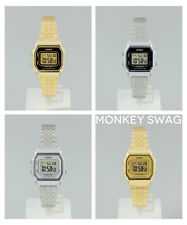 NEW RETRO CLASSIC LADIES CASIO WATCH GOLD / SILVER LA680WA / LA680WGA