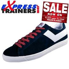 Pony Mens Topstar Suede Ox Vintage Retro Trainers (Navy/Wht) * AUTHENTIC *