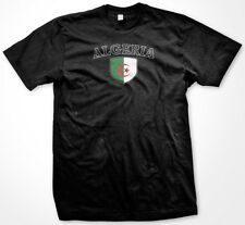 Algeria Country Crest Flag Colors Nationality Ethnic Pride -Mens T-shirt
