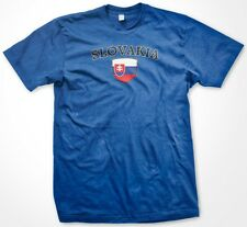 Slovakia Country Crest Flag Colors Nationality Ethnic Pride -Mens T-shirt