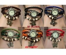 Fashion Watch Butterfly Bracelet Watch Quartz Movement Wrist Watch Girl/Women