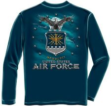 United States Air Force Blue Long Sleeve T-Shirt