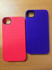 New Speck PixelSkin HD for iPhone 4S & iPhone 4 Skin Case red/purple Available