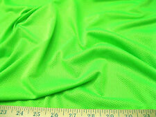Discount Fabric Polyester Athletic Sports Mesh Neon Green 925LY
