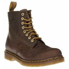 New Mens Dr. Martens Brown 1460 Leather Boots Lace Up