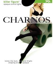 Charnos Killer Figure Opaque Control Tights Slimming Pantyhose