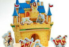 3D Wood/Wooden Puzzle PRINCESS CASTLE or PIRATE SHIP Traditional Model Retro Toy