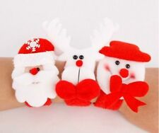 christmas snap bracelet stocking filler & gift present santa, Bear & reindeer