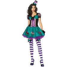 Teacup Mad Hatter Sexy Adult Alice in Wonderland Fancy Dress Halloween Costume