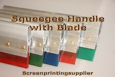 """12"""" Screen Printing Squeegee -Aluminum Handle with Blade"""