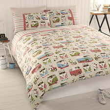 Camper Van #Bedding Duvet Covers & Pillowcases. Single, Double & King Available