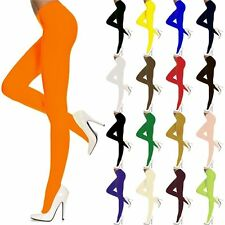 Opaque Pantyhose Tights One Size Regular, 15 Color Choices, Lingerie