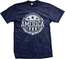 AMERICA Liberty And Justice For All - Slogans Sayings Statements- Men's T-shirt
