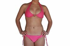 Swimwear Bathers Ladies 2 Piece Halter Neck Pink Bikini  Sz 8 10 12 14 16