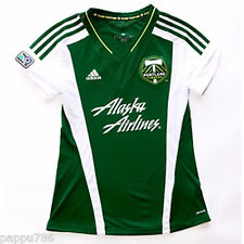 Portland Timbers 2013 Primary WOMENS Soccer Jersey - Womens Cut - 25% off!
