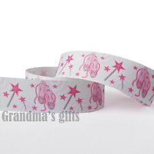 "1""25mm Ballet Shoe Printed Grosgrain Ribbon 5/10/50/100 Yards Hairbow Wholesale"