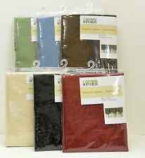 "The Home Store Set of 2 -  60"" x 19"" Standard Size Window Valances NIP"