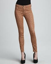 HUDSON Brown Nico Super Skinny Nouveau Womens Jeans MSRP $198.00