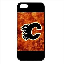 Calgary Flames Hockey - Hard Case for iPhone 5 - (9 Colors) - WW5111