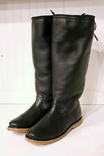 FRYE Celia Shearling Back Lace Boots - Black Antique - Size 6.5, 7, 8.5 - New