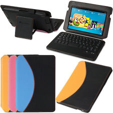 "Bluetooth Keyboard Stand Leather Case For Amazon Kindle Fire HDX 7"" 2013 Model"
