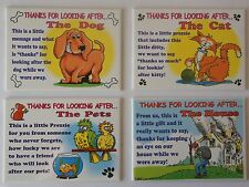 FRIDGE MAGNETS - THANKS FOR LOOKING AFTER.... - CHOICE OF FOUR DESIGNS