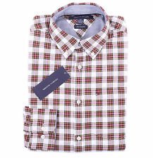 Tommy Hilfiger Men Long Sleeve Button Down Plaid Casual Shirt - New York Fit