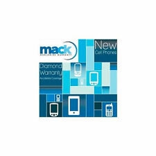 Mack 1 Year New Cell Phone Diamond Service Warranty Coverage *Brand New*