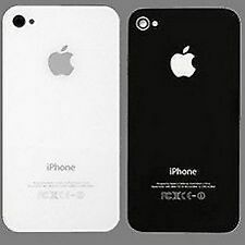 BACK GLASS PLATE OR PANEL/DOOR FOR IPHONE 4 ( BLACK / WHITE )